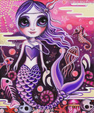 """Mermaid at Dusk"" Art Print"