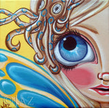 """Blue Ringed Octopus Fairy"" Art Print"
