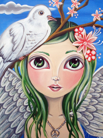 """Peace Angel"" Art Print"