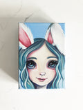"""Snow Bunny"" Original Painting"