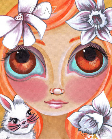 """Spring Princess"" Art Print"