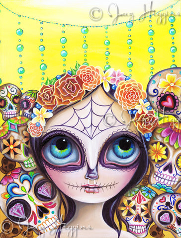 """Sugar Skull Princess"" Art Print"
