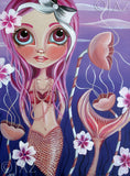 """The Mermaid's Garden"" Art Print"