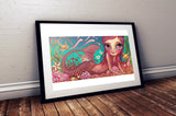 """Treasures of the Sea"" Art Print"