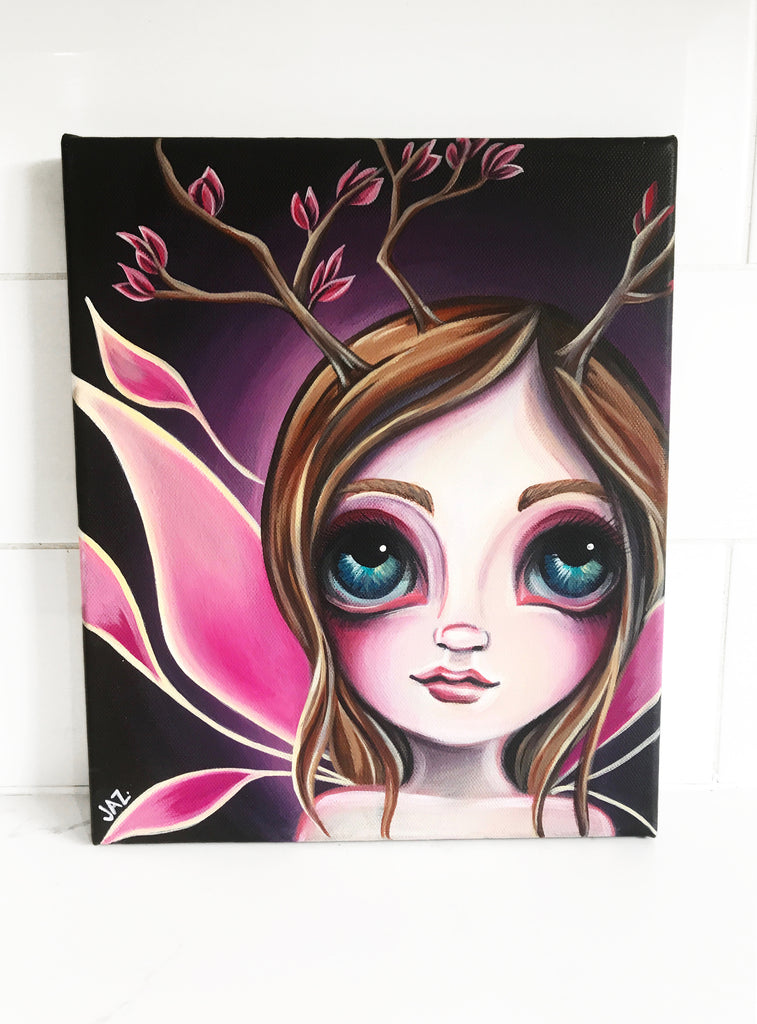 "Original ""What If Fairy"" Painting"