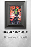 """Wicked Witch of the West"" Art Print"