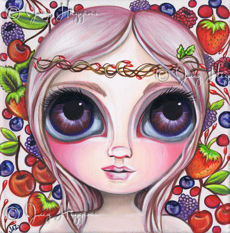 """Winterberry"" Art Print"