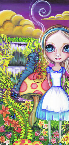 Alice And Absolem - Art Print