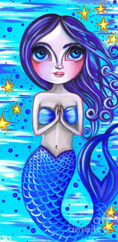 Blessed Mermaid - Art Print