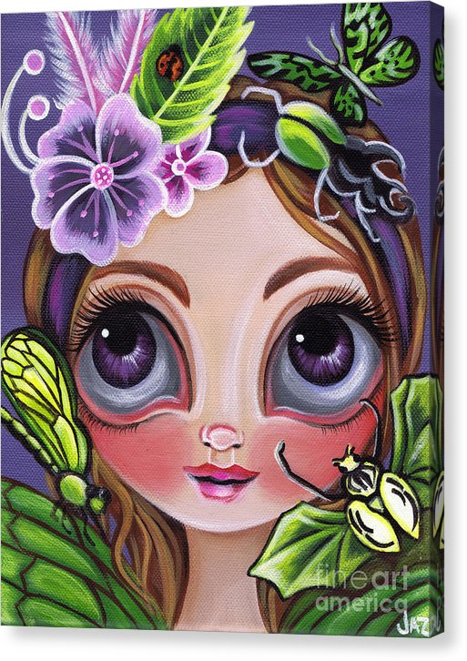 Fairy Of The Insects - Canvas Print