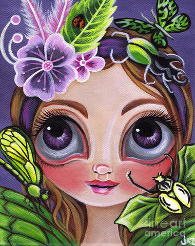 Fairy Of The Insects - Art Print