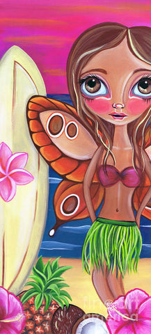 Hawaiian Fairy - Art Print