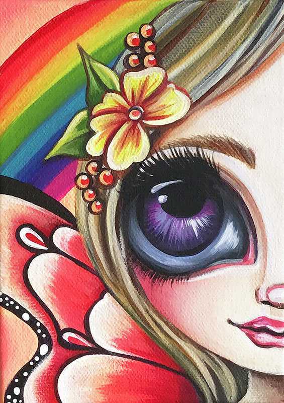Little Rainbow Fairy Art Print