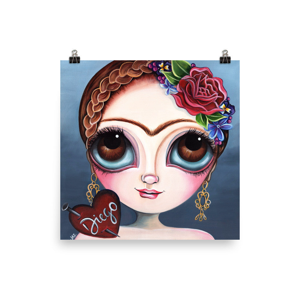 """Frida's Broken Heart"" Art Print"
