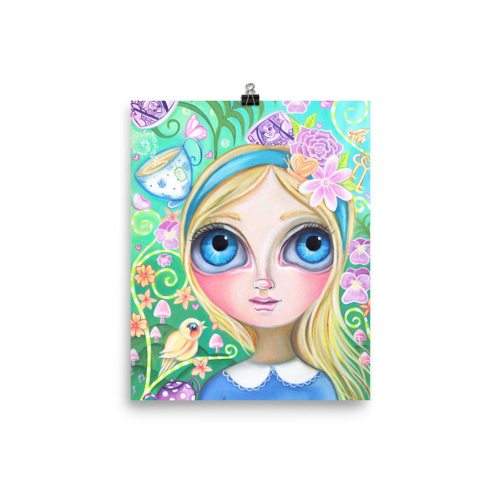 """Alice in Pastel Land"" Art Print"