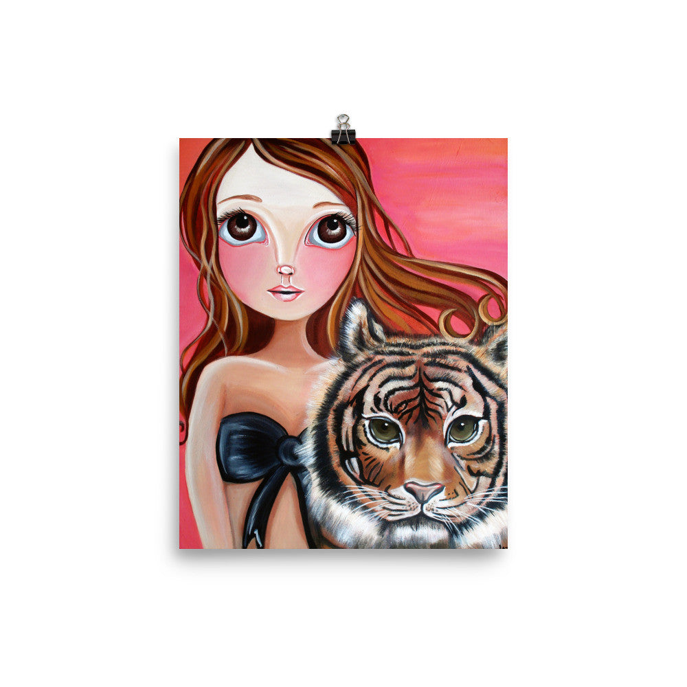 """Tiger Princess"" Art Print"