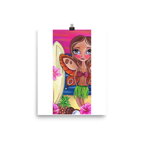 """Hawaiian Fairy"" Art Print"