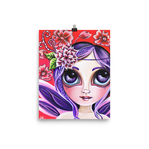 """Mystical Garden Fairy"" Art Print"