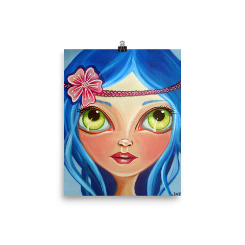 """Hippie Princess"" Art Print"