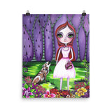 """Little Red Riding Hood"" Art Print"