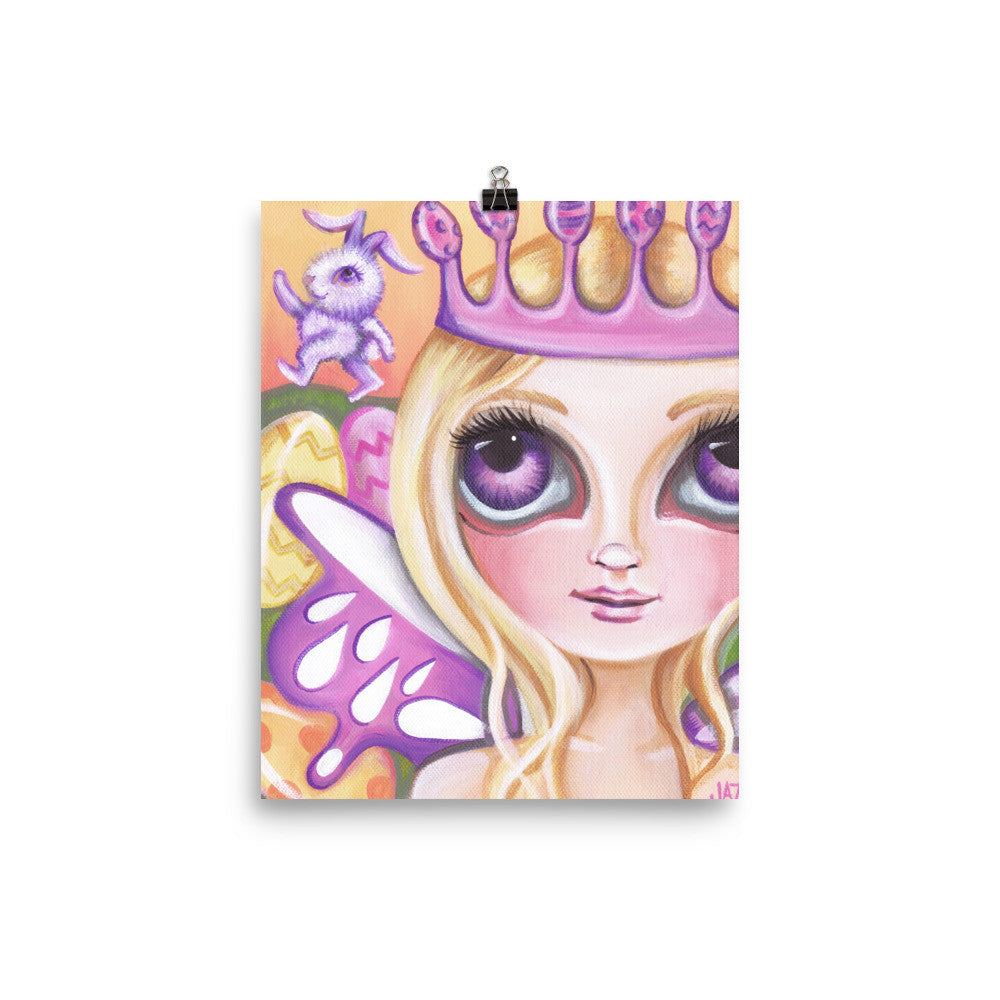 """Easter Fairy Princess"" Art Print"