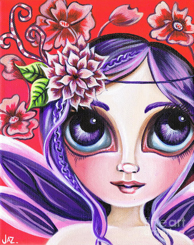 Mystical Garden Fairy - Art Print