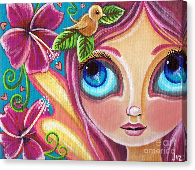 Summer Bliss Fairy - Canvas Print