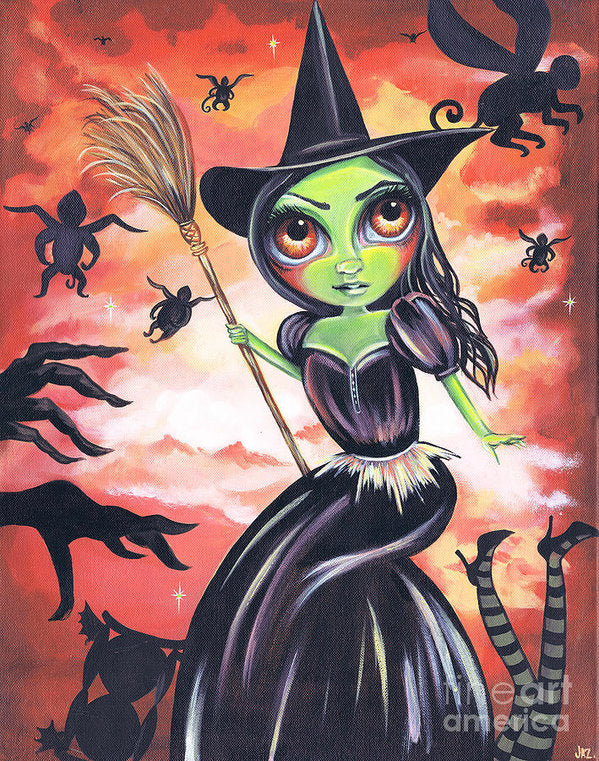 Wicked Witch Of The West - Art Print