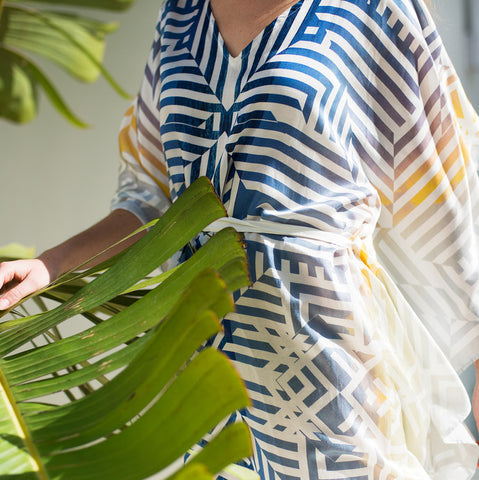 Ready for summer? These stylish and luxurious kaftans will take you from beach to evening