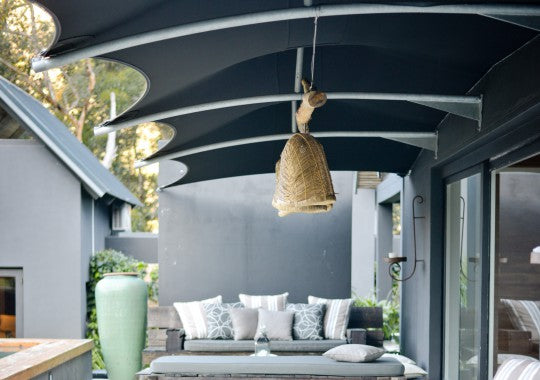 Villa Maison Noir, Capetown. Outdoors area