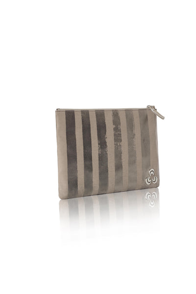 Marissa at Bond pouchette bag in Light Taupe , Pouchette bag - Misela, alimitlessworld