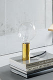 NEB Brass table lamp , Lamp - Per Soderberg | No Early Birds, alimitlessworld - 1