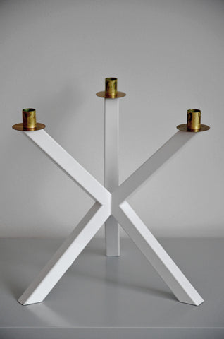NEB Candelabra in WHITE. , Candelabra - Per Soderberg | No Early Birds, alimitlessworld  - 1