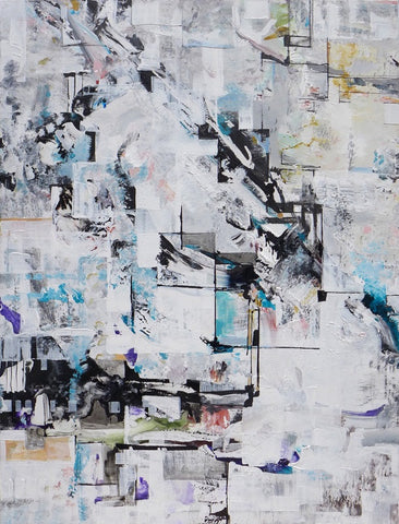Anna Sudbina: State of Flux, Number 2: Original painting , painting - Anna Sudbina, alimitlessworld