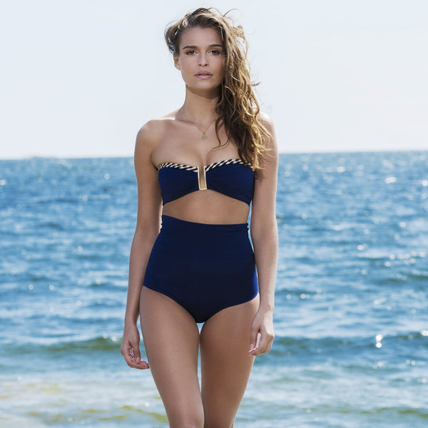 ROSE HIPS BIKINI in Midnight Blue , bikini - DEMADLY, alimitlessworld  - 1