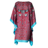 Sea Fan Short Kaftan , Kaftan - Sea Sage, alimitlessworld  - 3