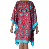 Sea Fan Short Kaftan , Kaftan - Sea Sage, alimitlessworld  - 4
