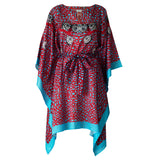 Sea Fan Short Kaftan , Kaftan - Sea Sage, alimitlessworld  - 5