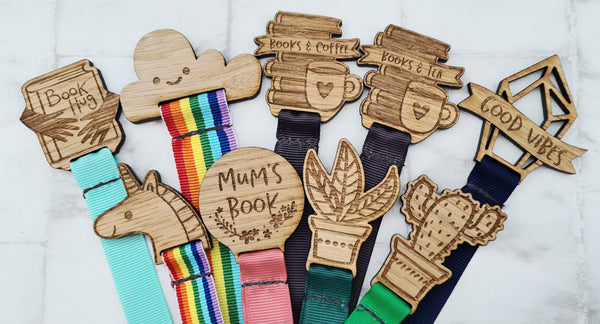 Wooden Engraved Bookmarks