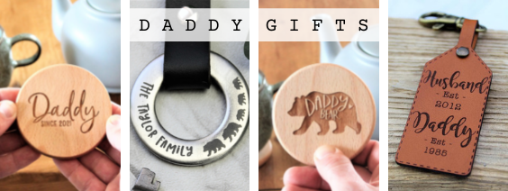 personalised daddy gifts for fathers day
