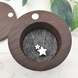 Personalised Wooden Ring Box with Name