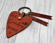 This Grandma Belongs to Keyring