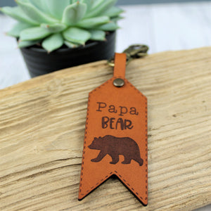 Papa Bear Luggage Tag