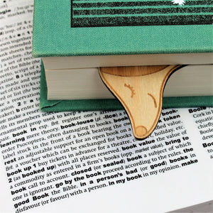 Wooden Dog Dachshund Bookmark