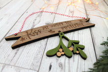 Mistletoe Hanging Christmas Decoration