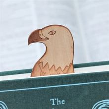 Wooden Eagle Bookmark