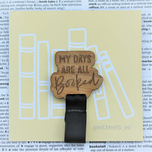 My Days Are All Booked Bookmark