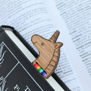 Rainbow Unicorn Bookmark