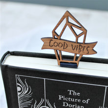 Good Vibes Crystal Bookmark