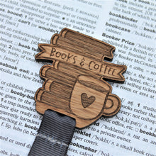 Books and Coffee Bookmark